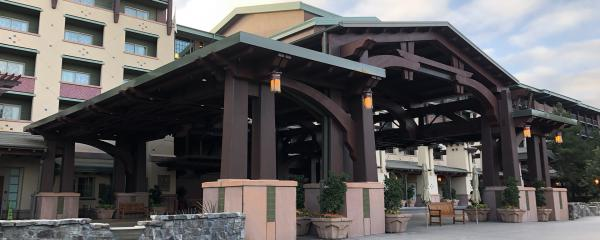 Disney Porte Cochere